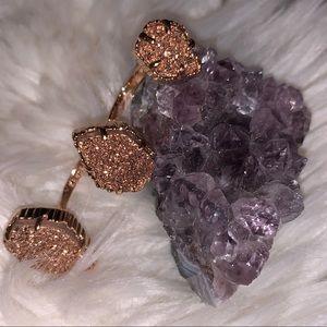 Kendra Scott l Naomi Rose Gold Double Ring